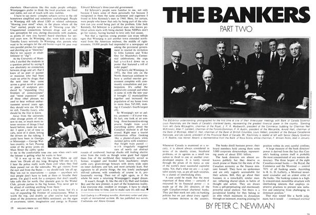 Article Preview: THE BANKERS PART TWO, March 1972 | Maclean's