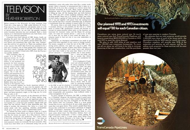 Article Preview: TELEVISION, March 1972 | Maclean's