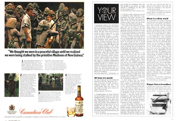 Article Preview: YOUR VIEW, March 1972 | Maclean's