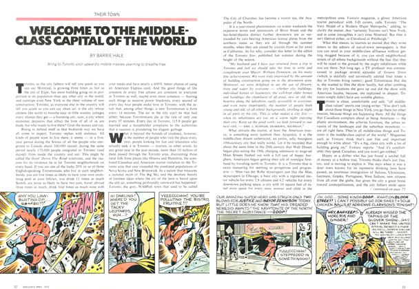 Article Preview: WELCOME TO THE MIDDLE-CLASS CAPITAL OF THE WORLD, April 1972 | Maclean's
