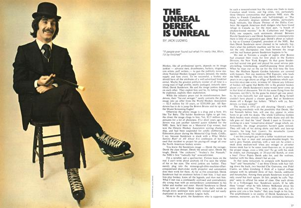 Article Preview: THE UNREAL DEREK IS UNREAL, April 1972 | Maclean's