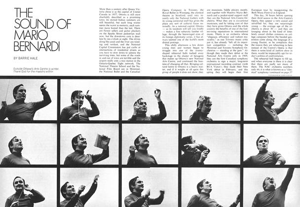 Article Preview: THE SOUND OF MARIO BERNARDI, April 1972 | Maclean's