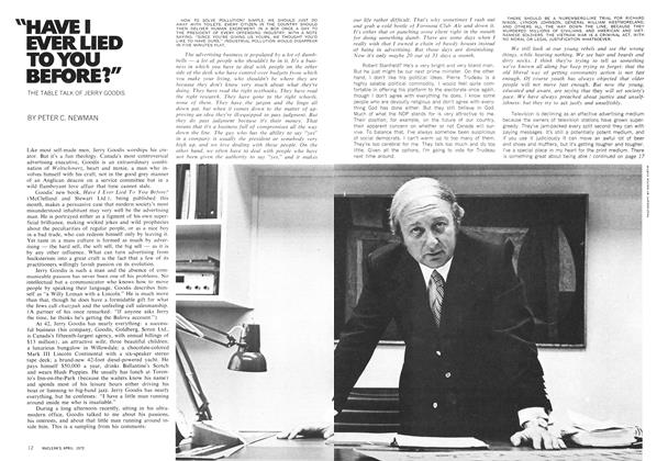 """Article Preview: """"HAVEI EVER LIED TO YOU BEFORE?"""", April 1972 