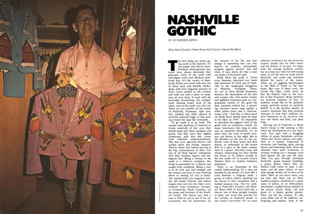 Article Preview: NASHVILLE GOTHIC, May 1972 | Maclean's
