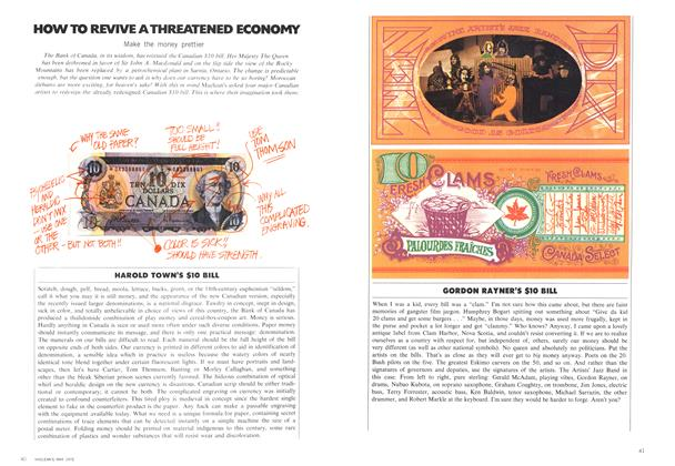 Article Preview: HOW TO REVIVE A THREATENED ECONOMY, May 1972 | Maclean's