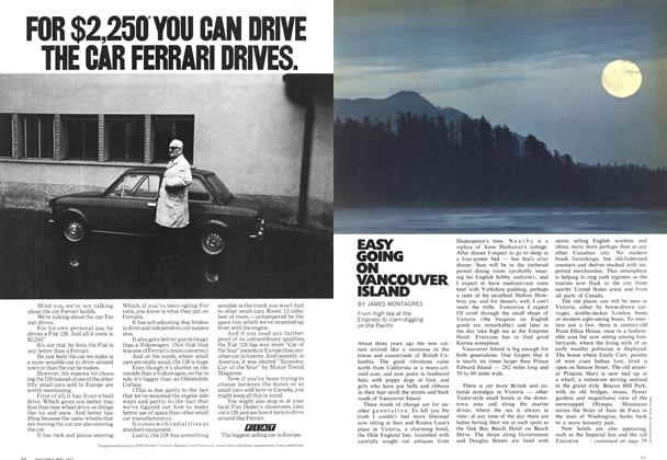 Article Preview: EASY GOING ON VANCOUVER ISLAND, May 1972 | Maclean's