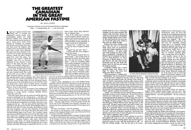Article Preview: THE GREATEST CANADIAN IN THE GREAT AMERICAN PASTIME, June 1972 | Maclean's