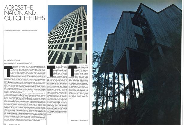 Article Preview: ACROSS THE NATION AND OUT OF THE TREES, June 1972 | Maclean's