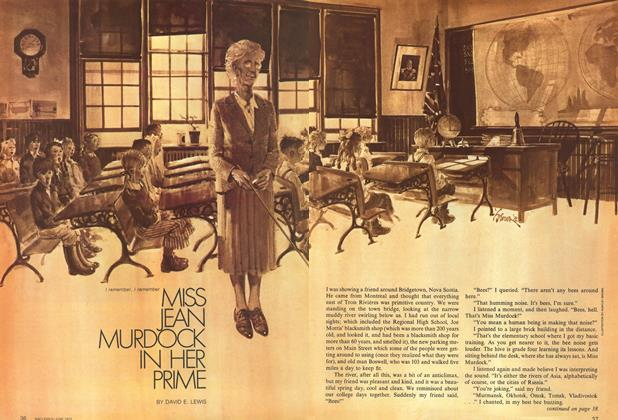 Article Preview: I remember, I remember MISS JEAN MURDOCK IN HER PRIME, June 1972 | Maclean's