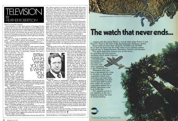 Article Preview: TELEVISION, June 1972 | Maclean's