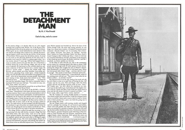Article Preview: THE DETACHMENT MAN, July 1972 | Maclean's