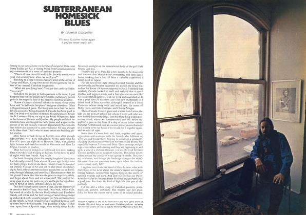 Article Preview: SUBTERRANEAN HOMESICK BLUES, July 1972 | Maclean's