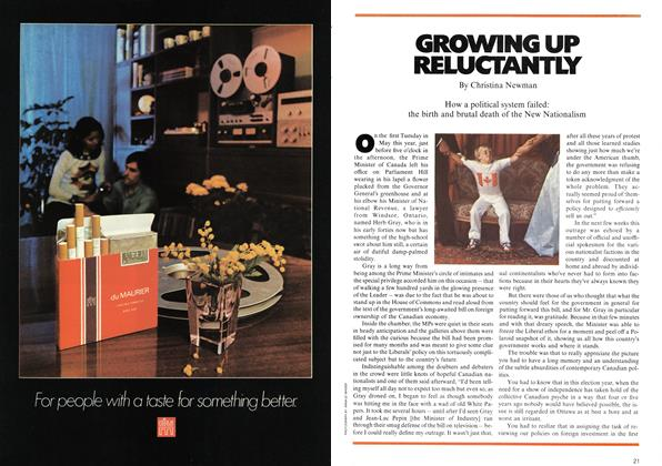Article Preview: GROWING UP RELUCTANTLY, August 1972 | Maclean's