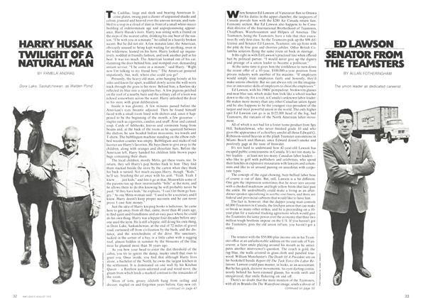 Article Preview: SENATOR FROM THE TEAMSTERS, August 1972 | Maclean's