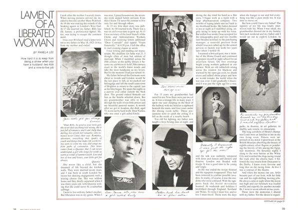 Article Preview: LAMENT OF A LIBERATED WOMAN, August 1972 | Maclean's