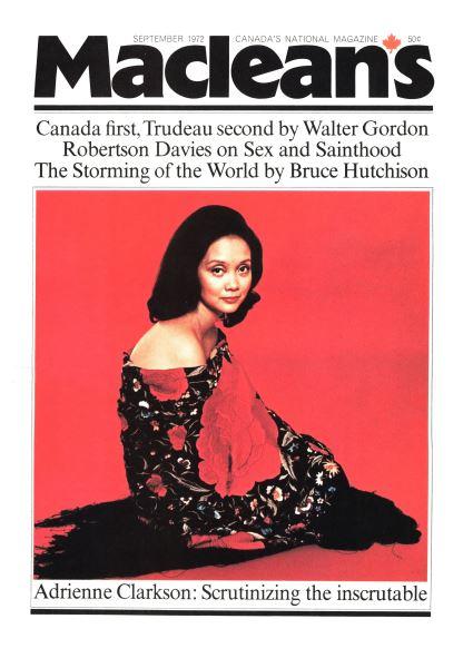 Issue: - September 1972   Maclean's