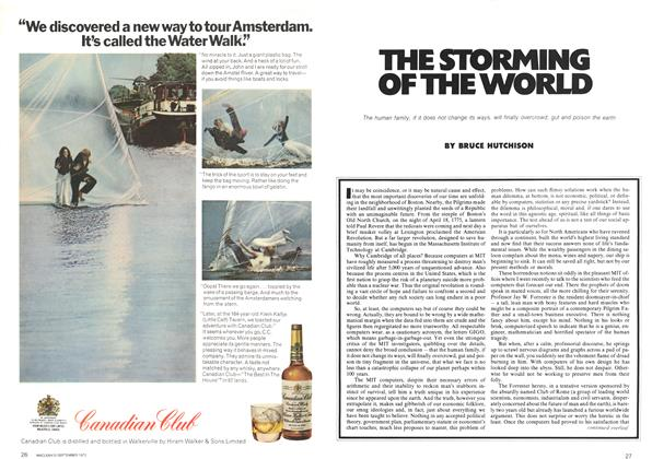 Article Preview: THE STORMING OF THE WORLD, September 1972 | Maclean's