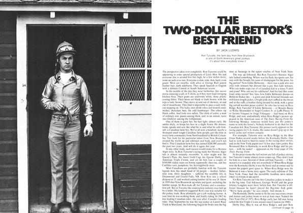 Article Preview: THE TWO-DOLLAR BETTOR'S BEST FRIEND, September 1972 | Maclean's