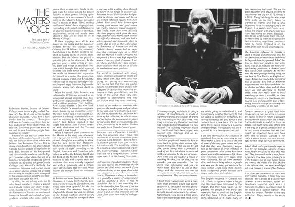 Article Preview: THE MASTER'S VOICE, September 1972 | Maclean's