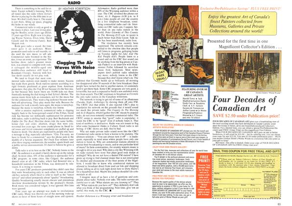 Article Preview: RADIO, September 1972   Maclean's