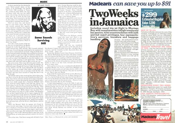Article Preview: MUSIC, September 1972 | Maclean's