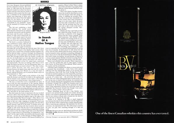 Article Preview: BOOKS, September 1972   Maclean's