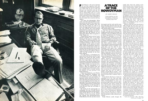 Article Preview: A TRACE OF THE ROWDYMAN, October 1972 | Maclean's