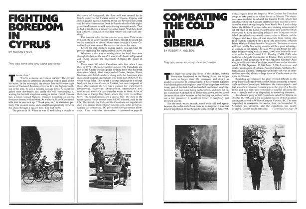 Article Preview: FIGHTING BOREDOM IN CYPRUS, October 1972 | Maclean's