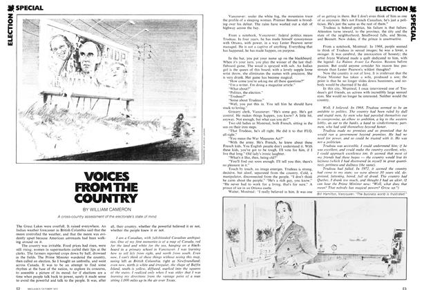 Article Preview: VOICES FROM THE COUNTRY, October 1972 | Maclean's