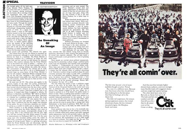 Article Preview: The Unmaking Of An Image, October 1972 | Maclean's