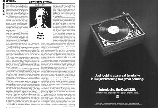 Article Preview: Four Fuzzy Years, October 1972 | Maclean's