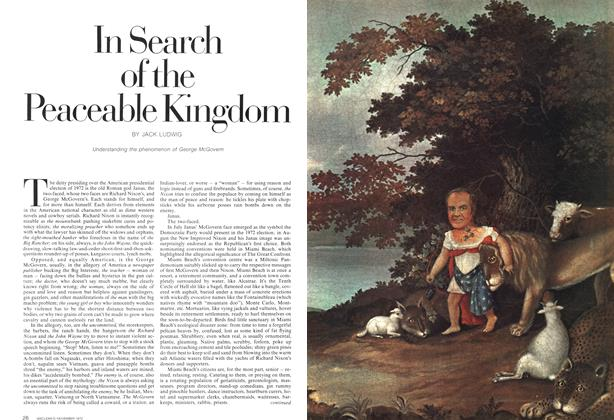Article Preview: In Search of the Peaceable Kingdom, November 1972 | Maclean's