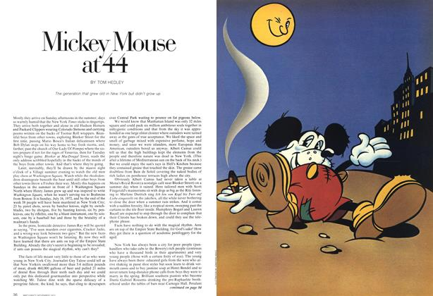 Article Preview: Mickey Mouse at 44, November 1972 | Maclean's