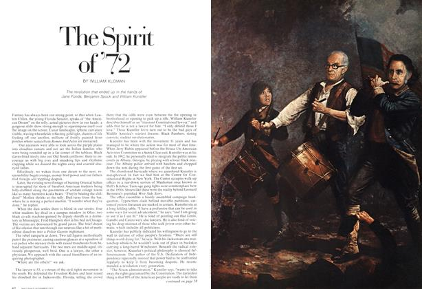 Article Preview: The Spirit of'72, November 1972 | Maclean's