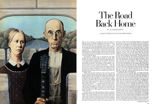Article Preview: The Road Back Home, November 1972 | Maclean's