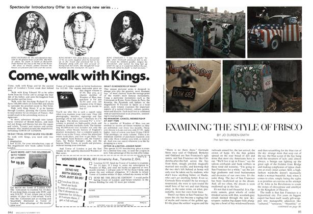 Article Preview: EXAMINING THE STYLE OF FRISCO, November 1972 | Maclean's