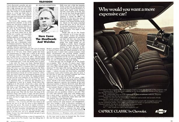 Article Preview: Here Come The Meatheads And Weirdos, November 1972 | Maclean's