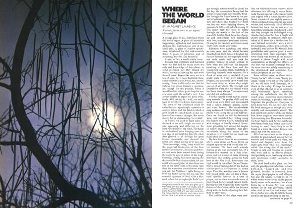 Article Preview: Where The World Began, December 1972 | Maclean's