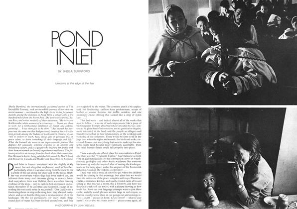 Article Preview: POND INLET, February 1973 | Maclean's
