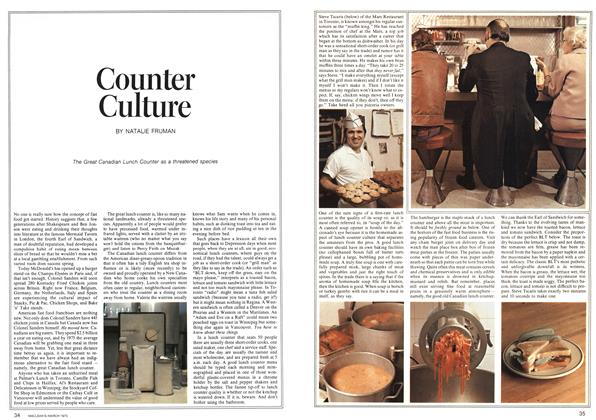 Article Preview: Counter Culture, March 1973   Maclean's