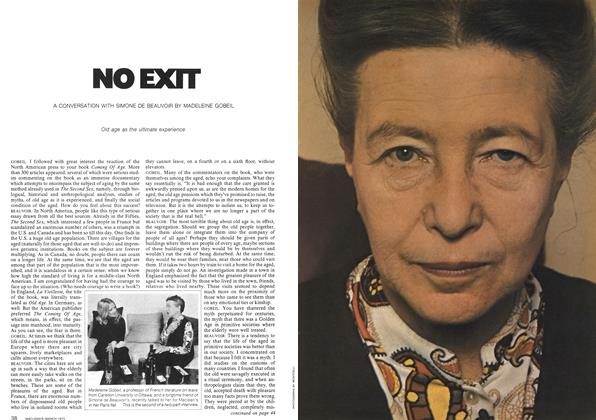 Article Preview: NO EXIT, March 1973   Maclean's