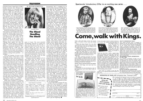 Article Preview: The Bland Needling The Bland, March 1973 | Maclean's