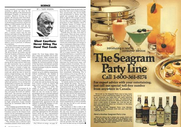 Article Preview: Silent Courtiers: Never Biting The Hand That Feeds, March 1973 | Maclean's