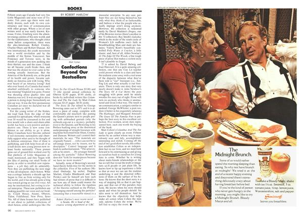 Article Preview: Confections Beyond Our Bestsellers, March 1973   Maclean's