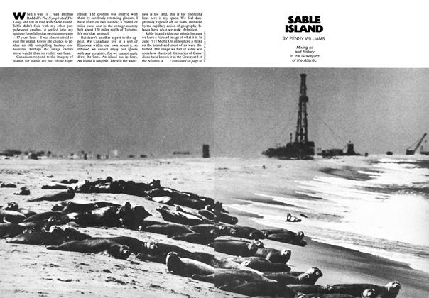 Article Preview: SABLE ISLAND, April 1973 | Maclean's