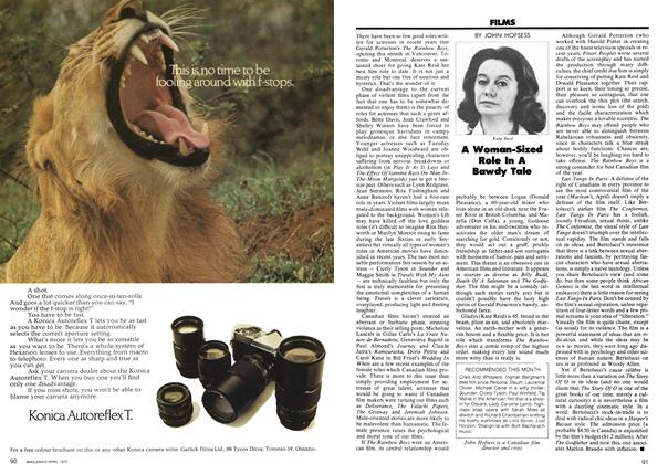 Article Preview: A Woman-Sized Role In A Bawdy Tale, April 1973 | Maclean's