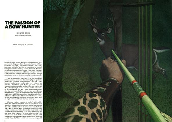 Article Preview: THE PASSION OF A BOW HUNTER, May 1973 | Maclean's