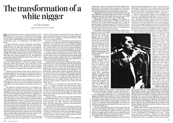 Article Preview: The transformation of a white nigger, May 1973 | Maclean's
