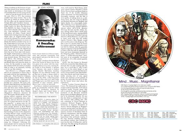 Article Preview: FILMS, May 1973 | Maclean's