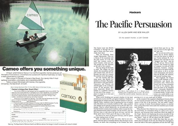 Article Preview: The Pacific Persuasion, June 1973 | Maclean's